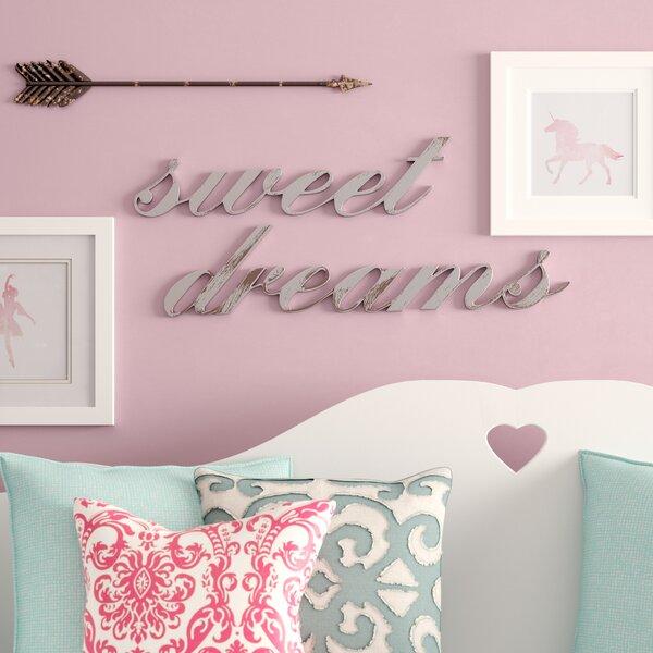 Sweet Dreams Wall Decor By Birch Lane Kids.