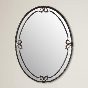 Fleur De Lis Living Alluvial Wall Mirror