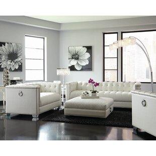 Arcovio 2 Piece Configurable Living Room Set by Rosdorf Park
