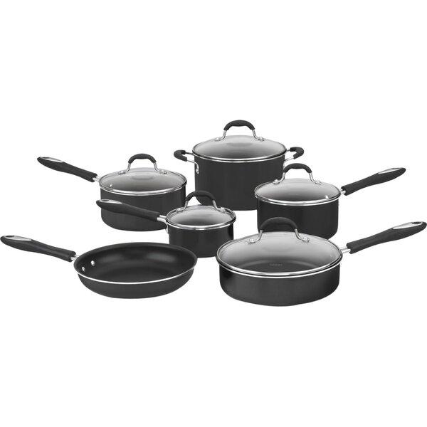 Advantage Nonstick 11 Piece Cookware Set by Cuisin