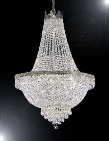 Dyann 9 - Light Unique / Statement Empire Chandelier By Willa Arlo Interiors