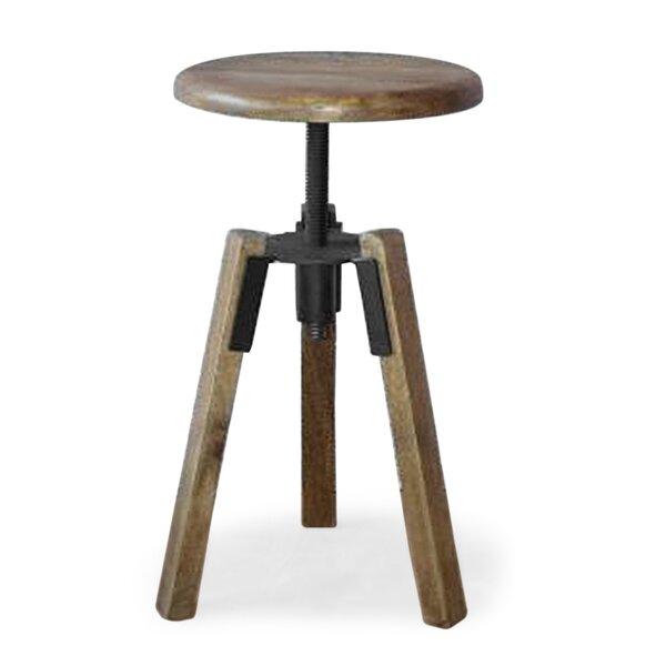 Perez Pedestal End Table By 17 Stories