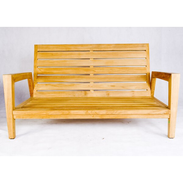 Teak Wood Stafford Garden Bench by Les Jardins