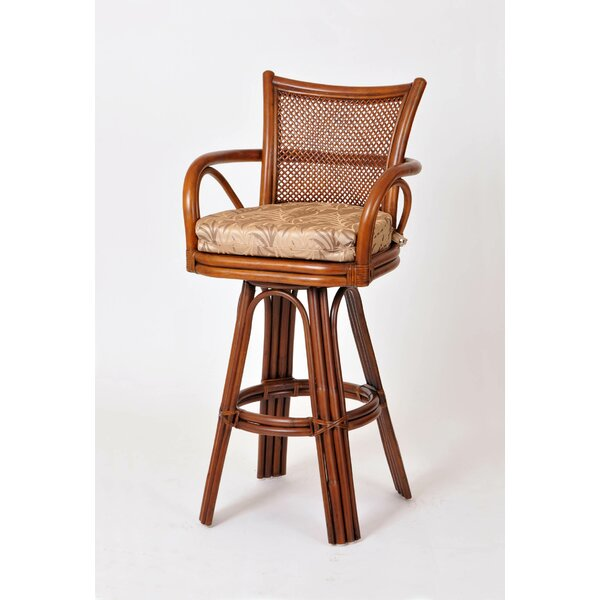 Teodora 30 Swivel Bar Stool by Bayou Breeze