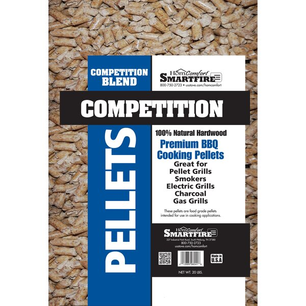 Pellets Competition Wood for Grills Stove by HomComfort
