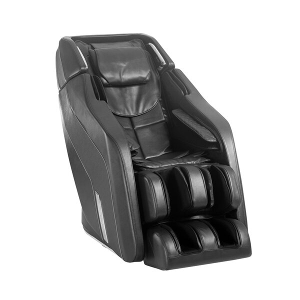 Patio Furniture Pegasus Smart Reclining Adjustable Width Heated Full Body Massage Chair