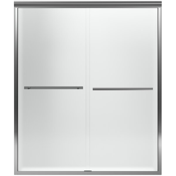 Gradient 60'' x 70.06'' Double Sliding Shower Door with CleanCoat® Technology by Kohler