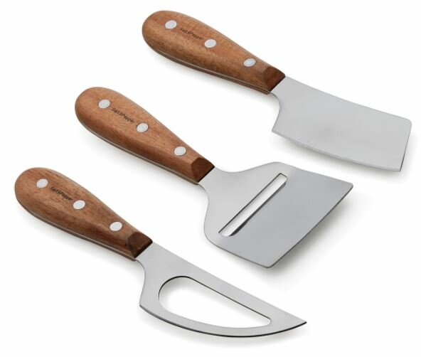 Fromage 3 Piece Cheese Knife Set by Salt and Pepper