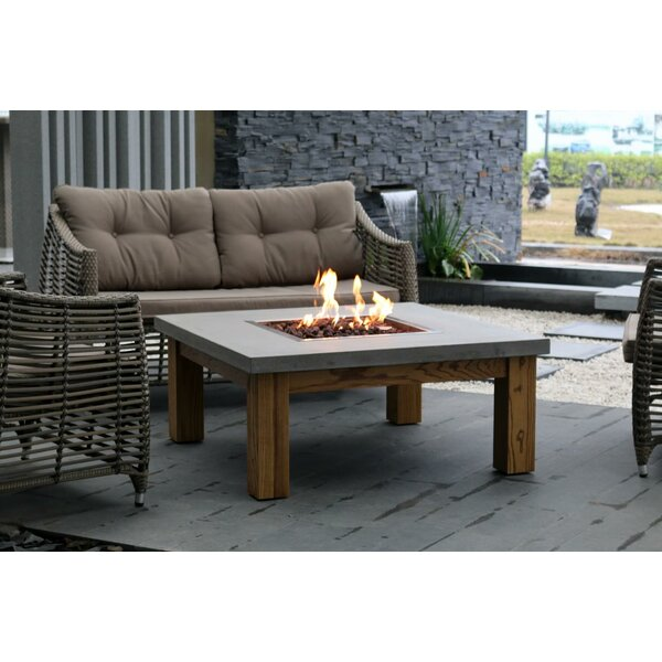 Amish Concrete Fire Pit Table by Homestyle Collection