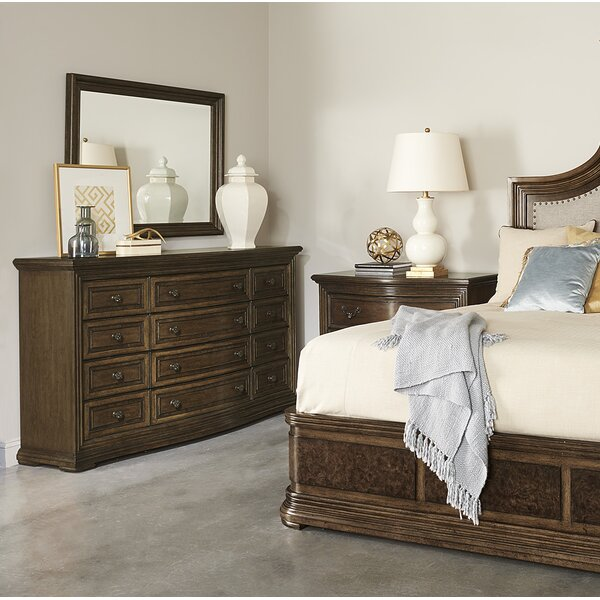 Salyer 9 Drawer Dresser with Mirror by Alcott Hill