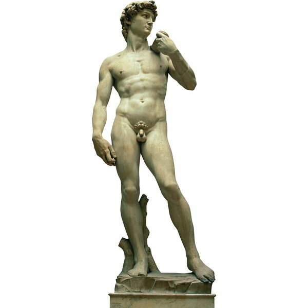 Italy Statue of David Cardboard Standup by Advanced Graphics
