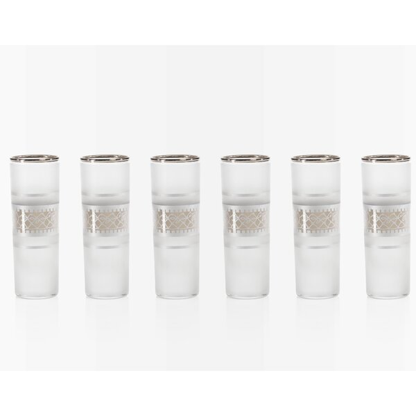 Carolus Shot Glass (Set of 6) by Bloomsbury Market