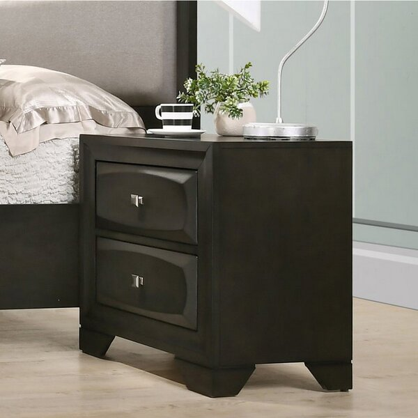 Silsbee 2 Drawer Nightstand by Ivy Bronx