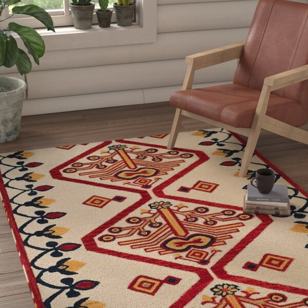 Aldwich Hand-Tufted Multi-Color Area Rug by Loon Peak