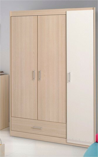 Maultsby 3 Door Wardrobe Armoire by Latitude Run