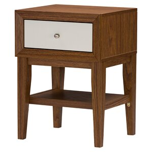 Peabody 1 Drawer Nightstand by Langley Street