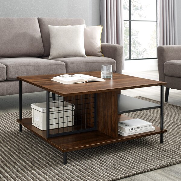 Karah Coffee Table with Storage by Wrought Studio Wrought Studio