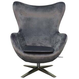 Ledet Fabric Swivel Rocker Lounge Chair