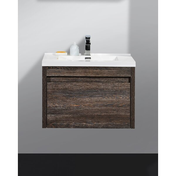 Rosas Modern 30 Single Bathroom Vanity Set by Wrou