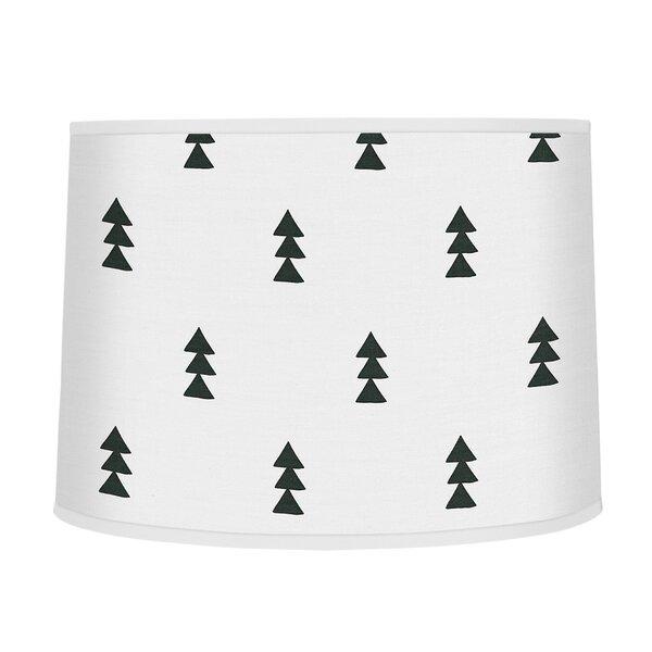 Bear Mountain 10 Fabric Drum Lamp Shade by Sweet Jojo Designs