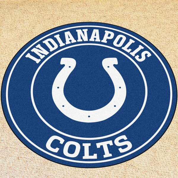 NFL Indianapolis NCAAts Roundel Mat by FANMATS