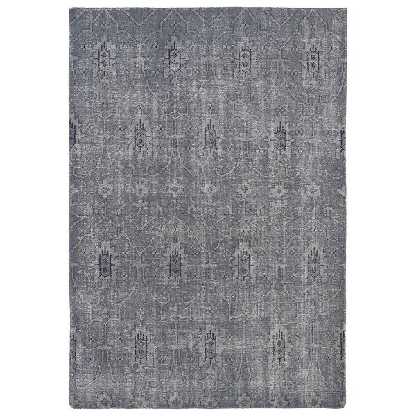Anjali Grey Area Rug by Mistana