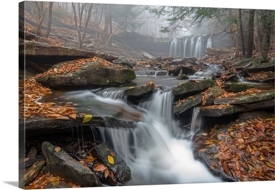 Morning Fog by Nick Kalathas Photographic Print on Canvas by Canvas On Demand