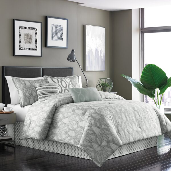 Henrik 7 Piece Reversible Comforter Set by Dansk
