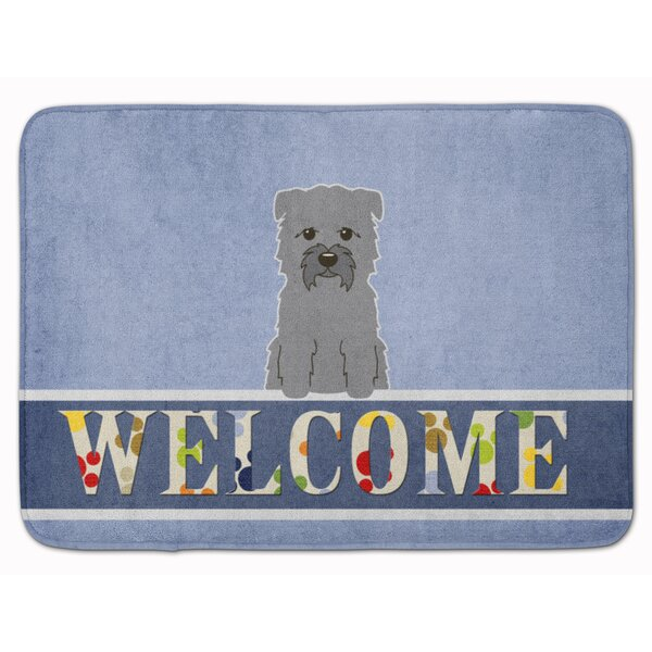 Glen of Imal Welcome Memory Foam Bath Rug by East Urban Home
