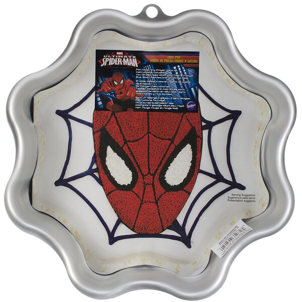 Spider Man Novelty Cake Pan by Wilton