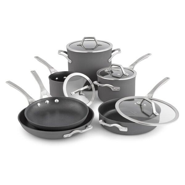 Calphalon Signature 10 Piece Nonstick Cookware Set
