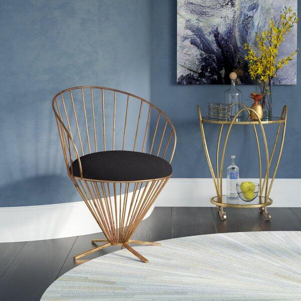 Risner Papasan Chair by Willa Arlo Interiors