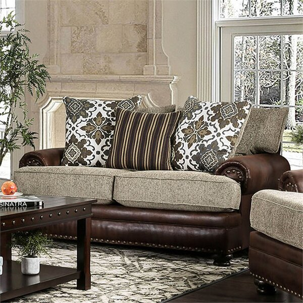 Riveria Transitional Chenille Loveseat by Astoria Grand