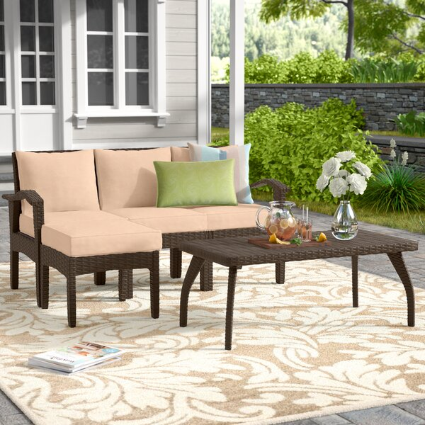 Arison 5 Piece Sectional Set with Cushions by Andover Mills