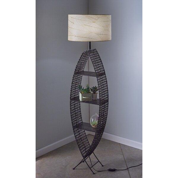 Outdoor/Indoor Fish Shelf 72 Floor Lamp by Eangee Home Design