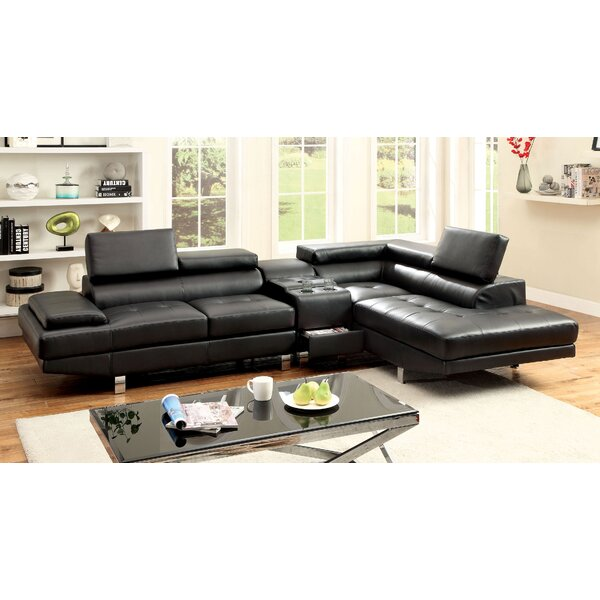 Dymitri Right Hand Facing Sectional by Hokku Designs Hokku Designs