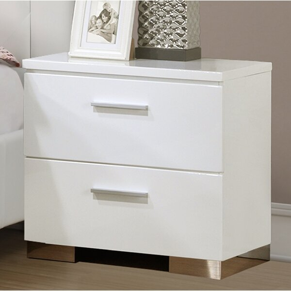 Hause 2 Drawer Nightstand by Orren Ellis