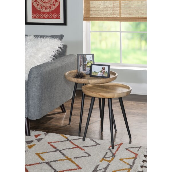 Northpoint Tray Top Nesting End Table (Set Of 2) By Foundry Select