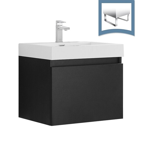 Nano 23 Single Bathroom Vanity Set by Fresca