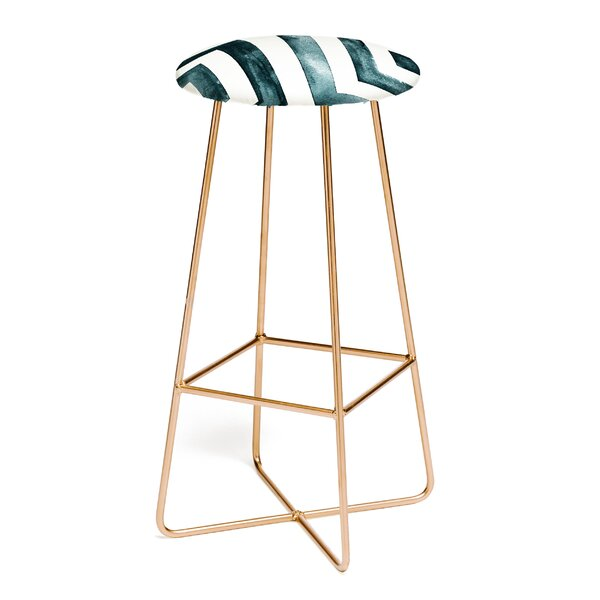Little Arrow Design Co Diamonds 30 Bar Stool by East Urban Home