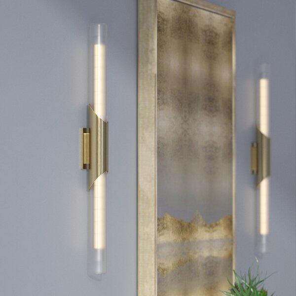 Ballweg 2-Light LED Flush Mount by Wade Logan