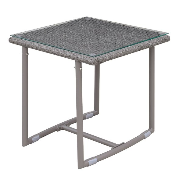 Cermenho Glass Side Table (Set of 2) by Ivy Bronx