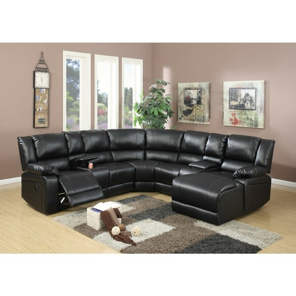 Valuable Brands Chaim Reclining Sectional by Red Barrel Studio by Red Barrel Studio
