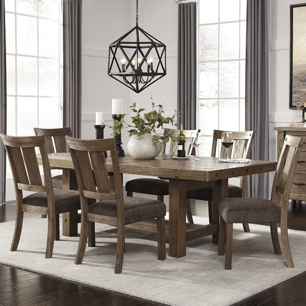 Etolin 7 Piece Dining Set by Loon Peak