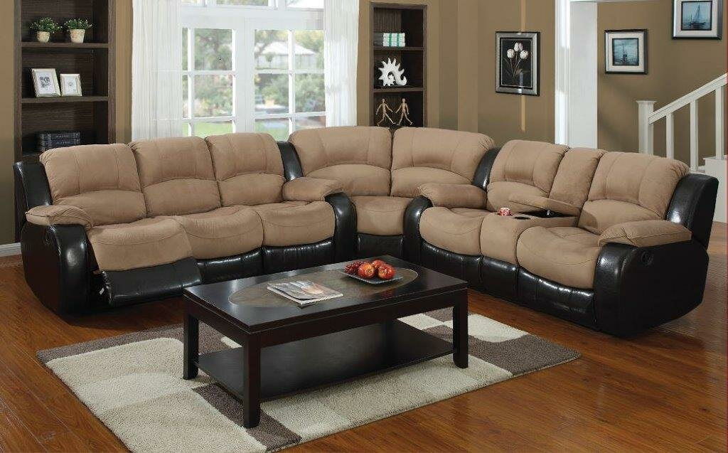 Asher Reversible Reclining Sectional : sectional recliner - Sectionals, Sofas & Couches
