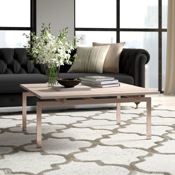 Carsten Coffee Table by Everly Quinn Everly Quinn