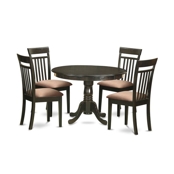 Travis 5 Piece Dining Set By August Grove Discount