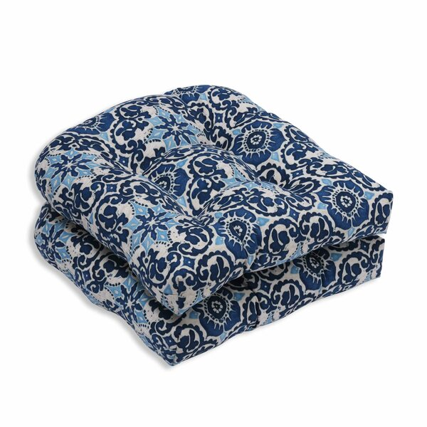 Bushman Indoor/Outdoor Dining Chair Cushion (Set of 2) by Alcott Hill