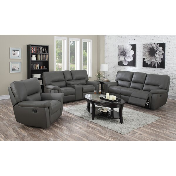 Harris Reclining 3 Piece Living Room Set by Coja