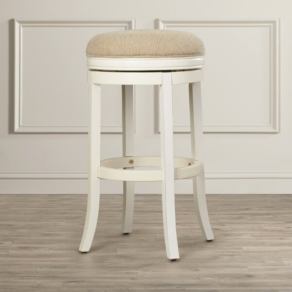 Nasturtium 30 Swivel Bar Stool by Lark Manor